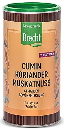 Cumin Koriander Muskatnuss Dose 220 G Amazon De Lebensmittel Getranke