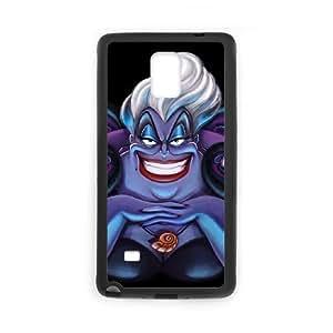 Disney Ursula Funda Samsung Galaxy Note 4 Funda caja del teléfono celular Negro Y6D1KQ Harley Davidson caja del teléfono celular