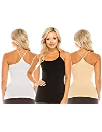 NEW 32 Degrees Cool Ladies Camisole cami Built in Bra VARIETY NWT S M L XL tank