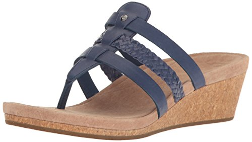 UGG Women's Maddie Flip Flop, Marino, 8 B US for sale  Delivered anywhere in USA