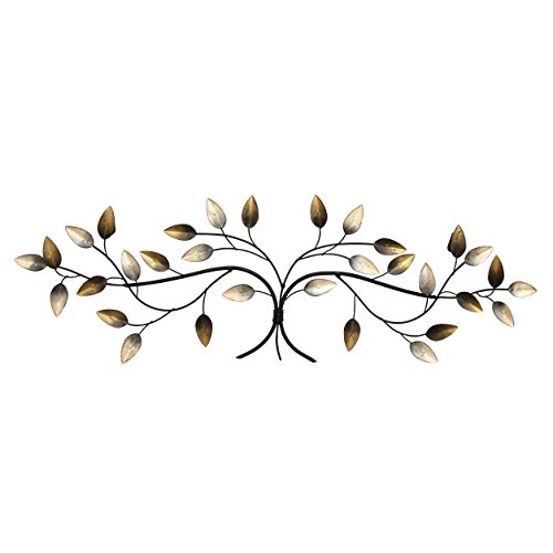 Stratton Home Decor S01356 Over The Door Blowing Leaves Wall Decor Leaf Wall Decor