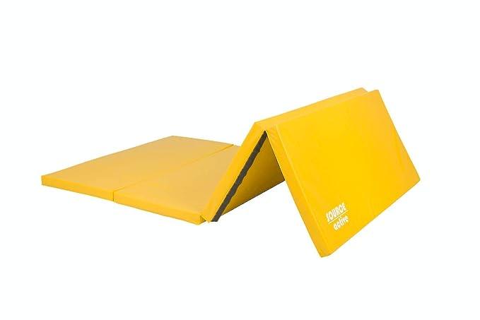 Colchoneta plegable y gruesa Source Active para ejercicio, yoga, gimnasia o pilates, hecha de poliuretano suave, 6 cm de grosor (varios colores ...