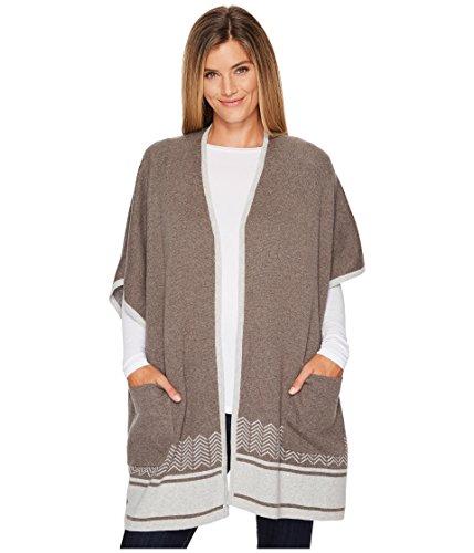 Royal Robbins Women's All Season Merino Wrap Sweater, Turkish Coffee, Snall/Medium