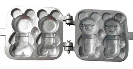 Aluminum Marker Pastry Cookies Pastry Baking Tool/Mold/Mould Big Bears Maker Rissian Soviet Cookies Pastry Aluminum baking dish by PetriStor]()