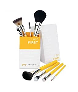 Bdellium Tools Professional Makeup Brush Studio Line I AM FIRST 10pc. Brush Set with Brush Holder [Limited Edition]