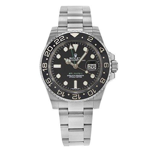 Rolex GMT-Master II 116710LN Steel & Ceramic Automatic Men's Watch 2010 B/P (Certified Pre-owned)