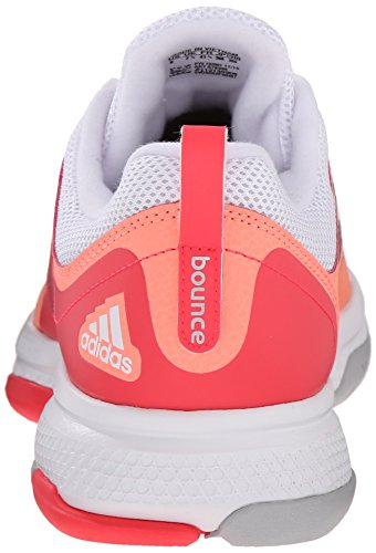 adidas Performance Women's Barricade Classic Bounce W Training Footwear,Sun Glow Yellow/Metallic Silver/Shock Red,9.5 M US by adidas (Image #2)
