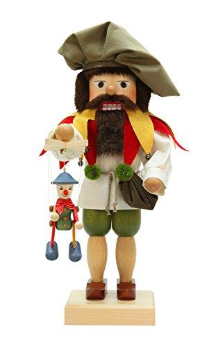 Alexander Taron Christian Ulbricht Decorative Puppeteer Nutcracker by Alexander Taron