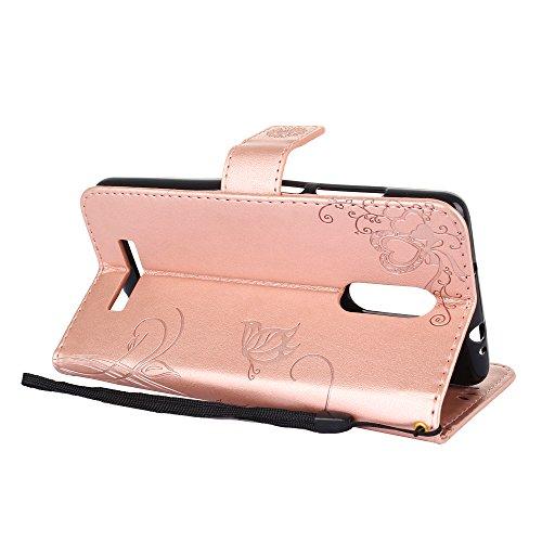 Funda Xiaomi Redmi Note 3, CaseLover Carcasa Libro Suave PU Cuero con Interior TPU Gel Silicona para Redmi Note 3 / Note 3 Pro (5.5 pulgadas) Tapa Piel Flip Case Cover Cierre Magnético, Función de Sop Rosa claro