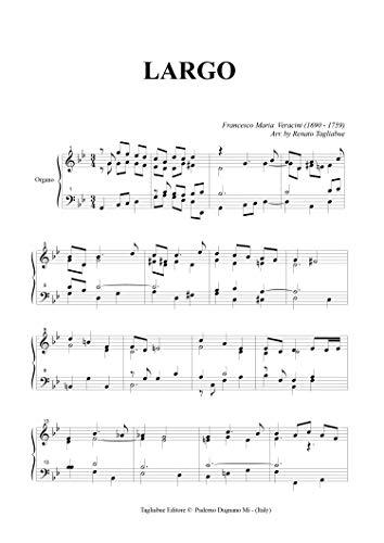 LARGO - Veracini - For Organ (Italian Edition)