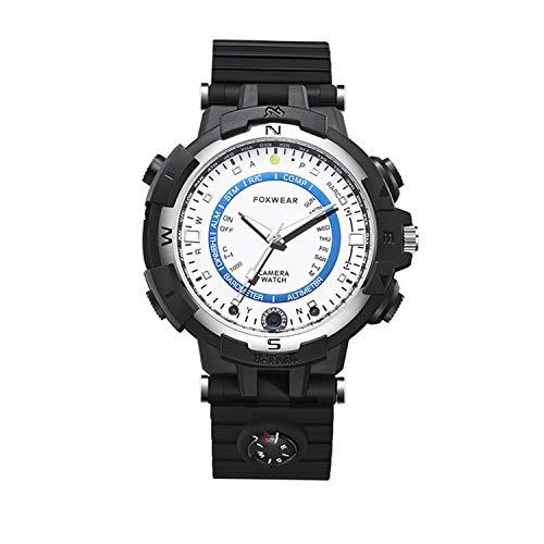 HUANGCHAO Reloj Deportivo Reloj Puntero Inteligente Cámara Al Aire Libre Multifunción Pulsera Grabadora De Conducción,...