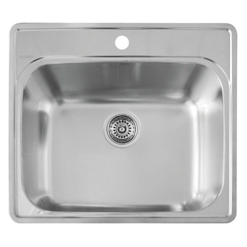 Blanco 441078 Essential Laundry Sink, Stainless Steel -