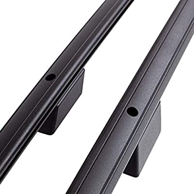 2016 Aluminio Negro con T/ÜV y Abe Barandilla de Techo Peugeot Expert Tepee Largo L2 H1 a/ño de construcci/ón 2007