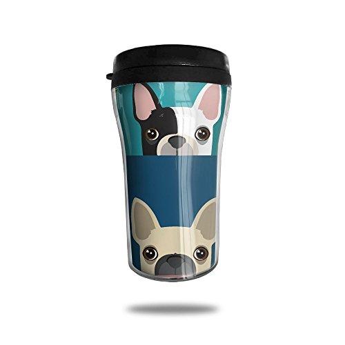 Boston Terrier Bulldog Fashion Travel Coffee Mugs Funny Office Cup Tea Mug