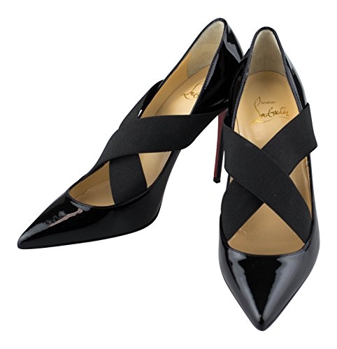 Christian Louboutin Pump Shoes - CHRISTIAN LOUBOUTIN Black Patent Leather Sharpstagram Pumps 6 US 36 EU