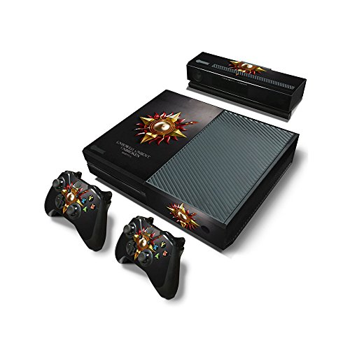microsoft-xbox-one-skin-decal-sticker-set-game-of-thrones-emblem-of-martell-1-console-sticker-2-cont