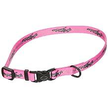 "3/8"" Harley Davidson Sm Pink Barb Wire Dog Collar"