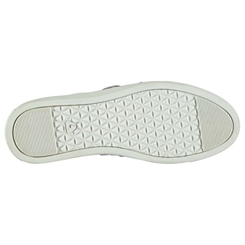Bow Slip deporte Mujer de Fabric Negro Zapatos ZwA4B77q
