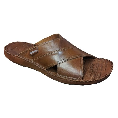 (PIKOLINOS Men's, Tarifa Casual Leather Slide Sandal Olmo 4.3 M )