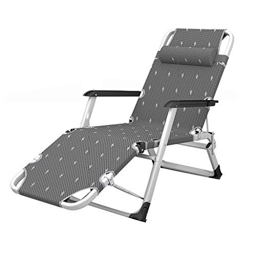 - Relaxer Recliner Chairs Sunbed Lounger Sling Chair Zero Gravity Chairs Folding Textilene Fabric with Headrest Garden Breathable Super Width for Patio Lawn