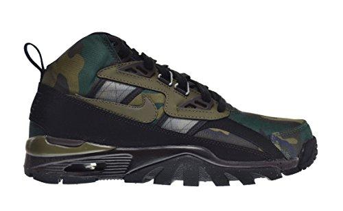 Nike Air Trainer SC Mens' Sneaker Boot Black/Medium Olive-Black-Tar 684713-003 (11 D(M) US)