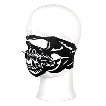 Máscara neopreno esqueleto de calavera