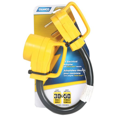 Camco 55183 30/50A RV Elec Adapter