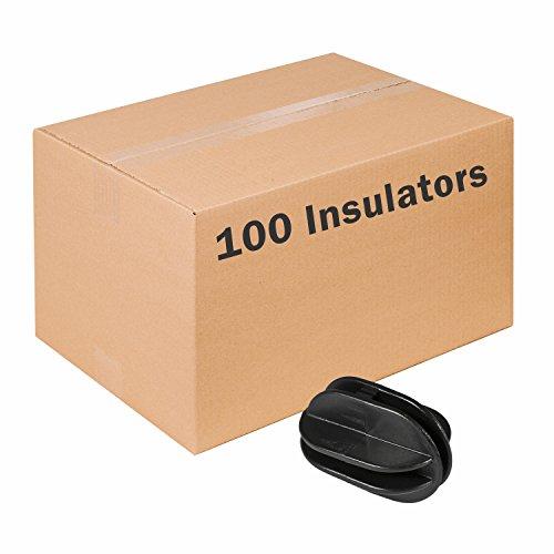 Zareba Systems ICB-Z 100 Black Corner Post Insulator