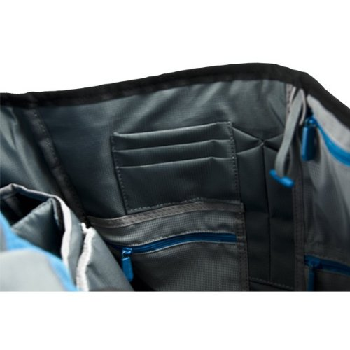 Alienware Vindicator Gaming Laptop Messenger Bag 13/14/17-Inch, Black/Teal Blue (AWVM1417)