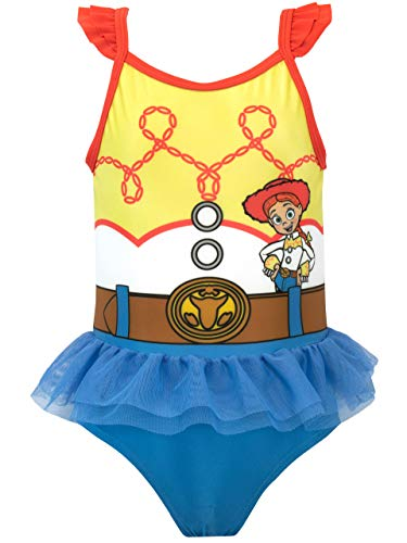 Disney Girls Toy Story Swimsuit Jessie Size 8 Blue -