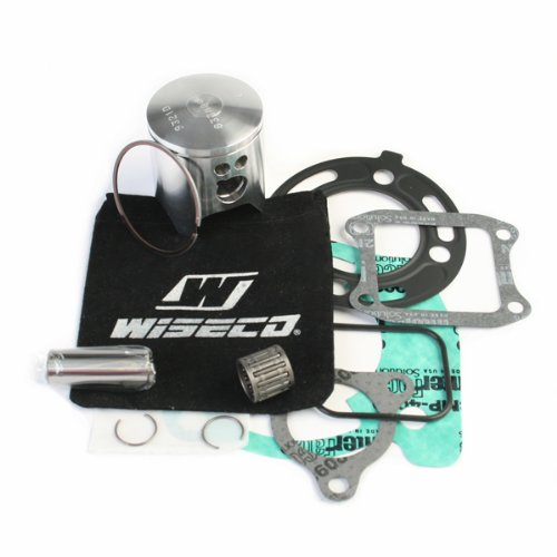 (Wiseco PK1588 47.5mm 2-Stroke Motorcycle Piston Kit with Top-End Gasket Kit)