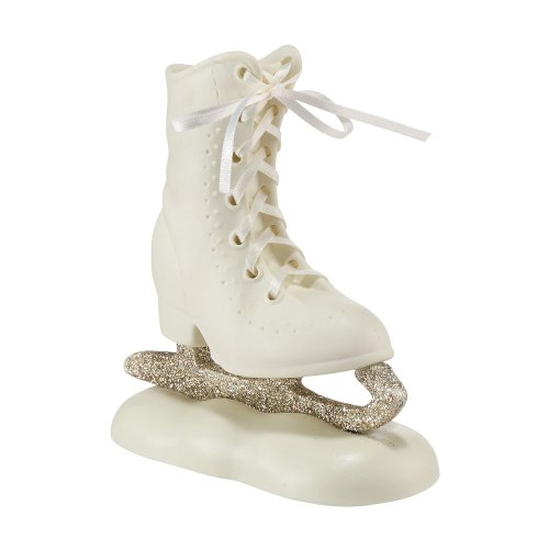 Department 56 Snowbabies Dream Collection Ice Skate on Base Figurine, 4.92 inch