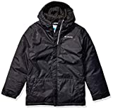 Columbia Boys' Big Lightning Lift Jacket, Black Stripe, XX-Small