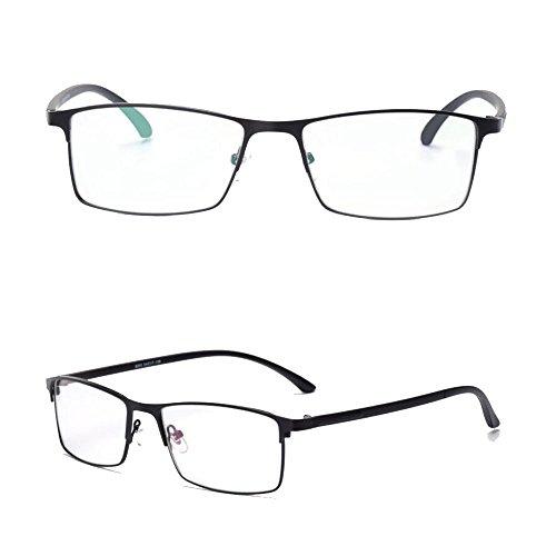 templos Progresivo Ray gafas de Blue Blue gafas de Ray fotocromatico progresiva anti sol computadora flexible línea lectura Negro Transición UV400 ninguna gradual Anti wq1Ogg