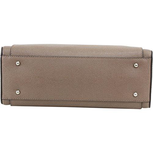 Guess - Bolso estilo bolera para mujer marrón marrón Mocha (Marrón)