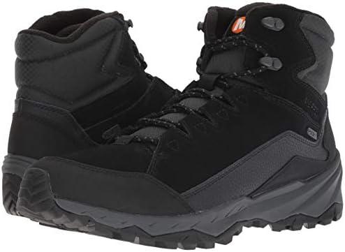 41 EU Chaussures de Randonn/ée Hautes Femme Black Noir Merrell Siren 3 Mid Gore-tex