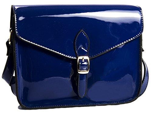 unique taille Shop Big marine femme Sacs Handbag bandoulière Bleu bleu zW1H7q4wR
