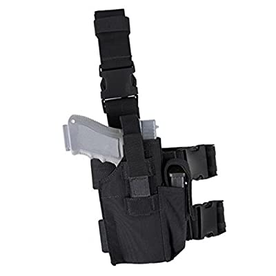 Carlebben Elite Molle Drop Leg Holster Adjustable Right Handed Tactical Thigh Pistol Gun Holster