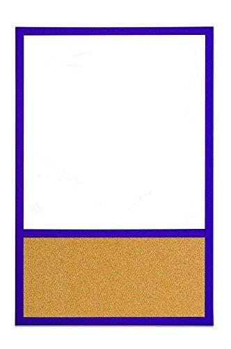 Unisex Bi-Office Dry Erase Cork 40 x 30 cm Purple by Bi-Office
