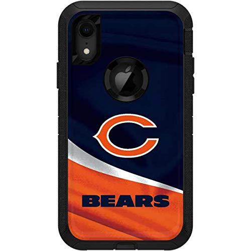 Skinit Chicago Bears OtterBox Defender iPhone XR Skin - Officially Licensed NFL OtterBox Case Decal - Ultra Thin, Lightweight Vinyl Decal Protection