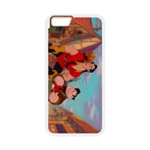 iPhone 6 4.7 Inch Cell Phone Case White Disney Beauty and the Beast Character Le Fou 002 OQ7632403