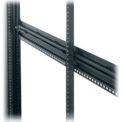 MRK Series Additional Rackrail Length: 77'' H (44U Space), Nut Style: 10-32 Threaded by Middle Atlantic