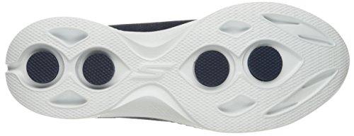 Skechers Go Walk 4 Airy Damen Textile Wanderschuh Marineblau / Weiß