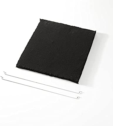 Elica F00439 Filtro accesorio para campana de estufa - Accesorio para chimenea (Filtro, Negro, Carbono, Elica, Ico, Om, Sinfonia, 280 mm)