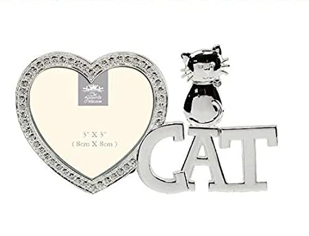Diamante Love Cat Frame LP26316, excellent gift for cat lovers ...