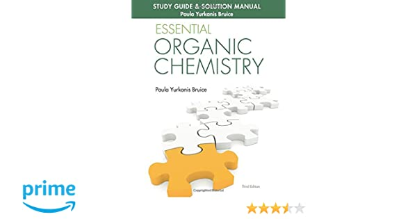 Amazon study guide solution manual for essential organic amazon study guide solution manual for essential organic chemistry 3rd edition 9780133867251 paula yurkanis bruice books fandeluxe Gallery