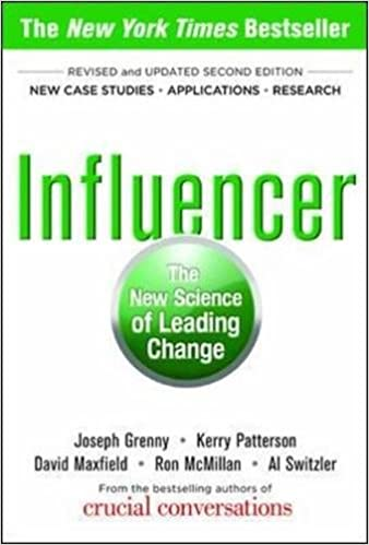 Influencer the new science of leading change second edition influencer the new science of leading change second edition joseph grenny kerry patterson david maxfield ron mcmillan al switzler 9780071808866 fandeluxe Choice Image