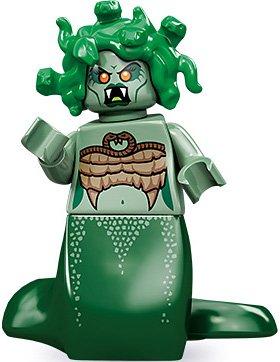 [해외]레고 71001 시리즈 10 미니 피그 레 메두사/Lego 71001 Series 10 Minifigure Medusa