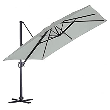 parasol rectangulaire deporte 2x3