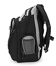Brenthaven 2071102 Expandable Trek Backpack for Notebooks / Ultrabook up to 15.6-Inch  - Titanium